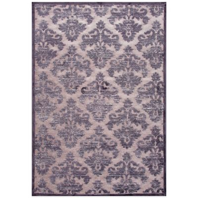 Jaipur Fables Majestic 7-Foot 6-Inch x 9-Foot 6-Inch Area Rug in Taupe/Grey