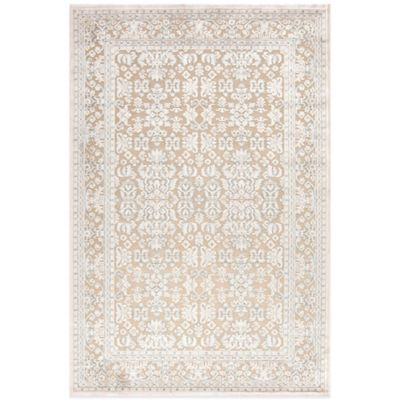 Jaipur Fables Regal 2-Foot x 3-Foot Area Rug in Taupe/Ivory