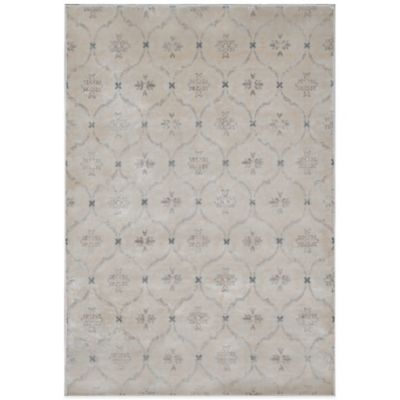 Radiance Geo Medallion 6-Foot 6-Inch X 9-Foot 10-Inch Area Rug in Taupe
