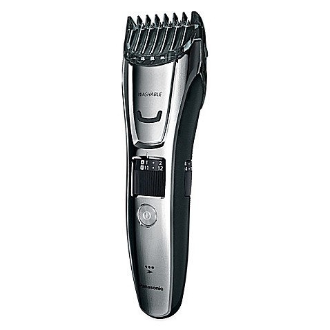 panasonic men 39 s all in one electric trimmer in silver. Black Bedroom Furniture Sets. Home Design Ideas