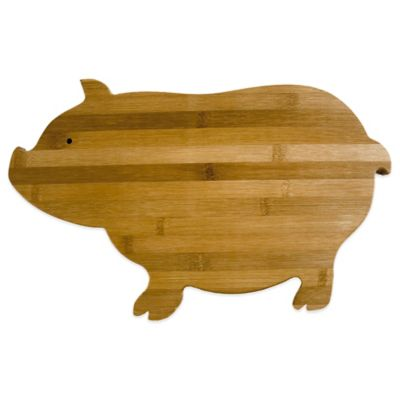 Totally Bamboo Pig Cutting/Serving Board