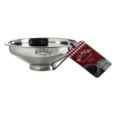 Kilner® Stainless Steel Easy Fill Funnel