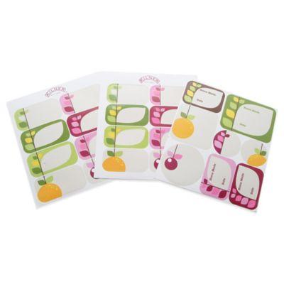Kilner® 24-Pack Fruit Blossom Labels