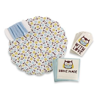 Kilner® 73-Piece Owl Label Set
