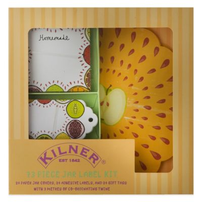 "Kilner® 73-Piece ""Fruits of the Forest"" Label Set"