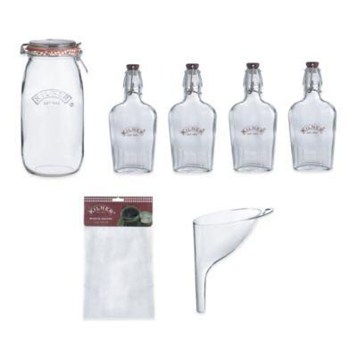 Kilner® 8-Piece Sloe Gin Gift Set
