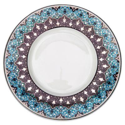 Dinner Plate in Peacock