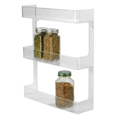 InterDesign® Cabinet Binz™ 3-Tier Wall Mount Spice Rack