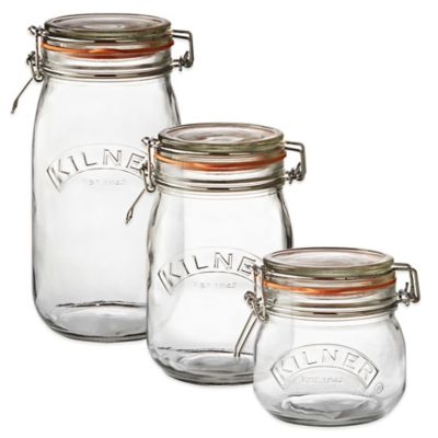 Kilner® 4 oz. Round Clip Top Canning Jar