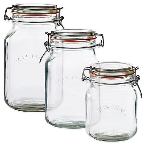 Kilner 174 Square Clip Top Canning Jar Bed Bath Amp Beyond