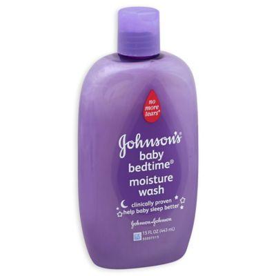 Johnson & Johnson® 15 oz. Bedtime Cream Wash