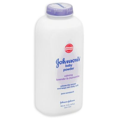Johnson & Johnson® 15 oz. Baby Powder in Lavender/Chamomile