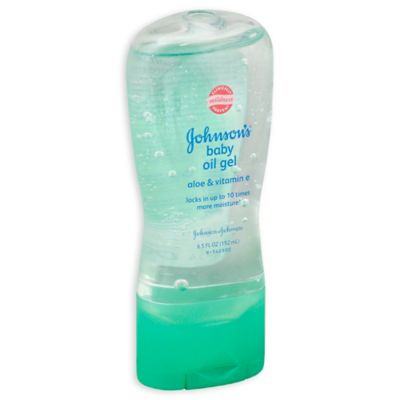 Johnson & Johnson® Aloe and Vitamin E 6.5 oz. Baby Oil Gel