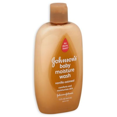 Baby > Johnson & Johnson® 15 oz. Vanilla Oatmeal Baby Wash