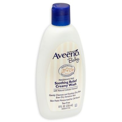 Aveeno® Baby® 8 oz. Soothing Relief Creamy Body Wash