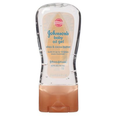 Johnson's® 6.5 oz. Baby Oil Gel With Shea And Cocoa Butter