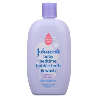 Johnson & Johnson Baby Bedtime® 15 oz. Bubble Bath & Wash