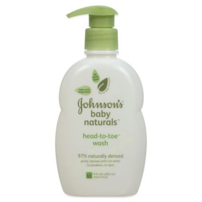 Johnson & Johnson® Naturals 9 oz. Baby Wash