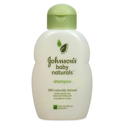 Johnson & Johnson® Naturals 10 oz. Baby Shampoo