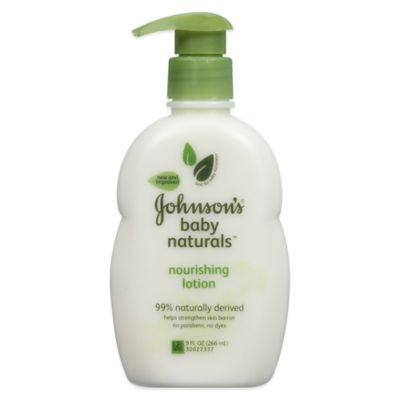 Baby > Johnson & Johnson & Johnson ® Naturals 9 oz. Baby Lotion