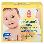 Johnson & Johnson® 14-Count Baby Head-To-Toe Washcloths