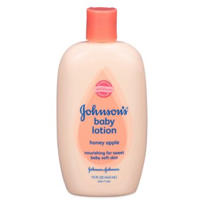 Johnson & Johnson® 15 oz. Honey Apple Baby Lotion
