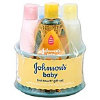 Johnson & Johnson® First Touch Baby Gift Set