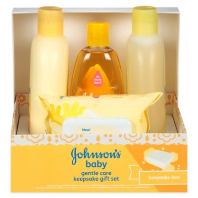 Johnson's® Baby Gentle Care Keepsake Gift Set