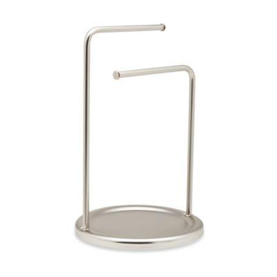 Umbra® Hoop Double Towel Tree in Nickel
