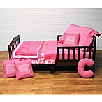 One Grace Place Simplicity 4-Piece Toddler Bedding Set in Hot Pink