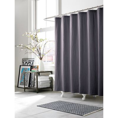 Kenneth Cole Reaction Home Mineral 72-Inch x 96-Inch Shower Curtain in Deep Orchid