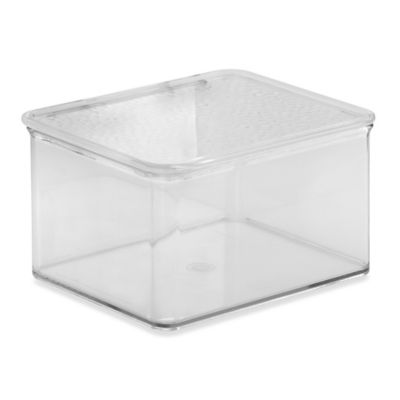 InterDesign® Rain Clear Stack Box