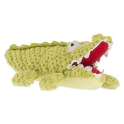 Glenna Jean Dylan Plush Small Crocodile Rattle