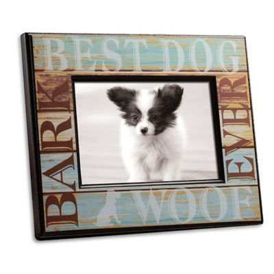 Best Dog 4-Inch x 6-Inch Picture Frame