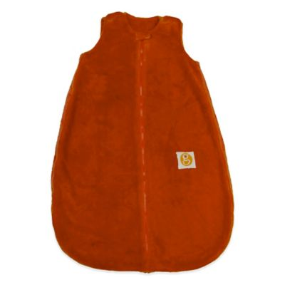 Gunamuna Classic Dreams Size 0-9M Gunapod Plush Wearable Blanket in Carrot