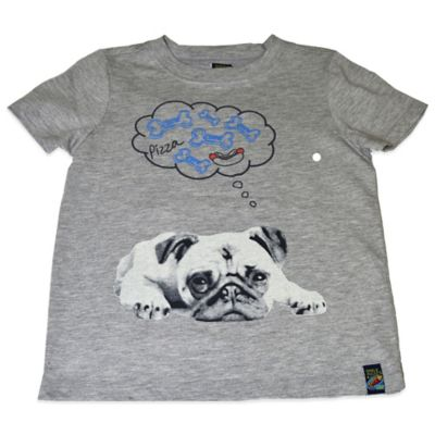 Charlie Rocket™ Size 3T Doggy Dream Short Sleeve T-Shirt in Heather Grey