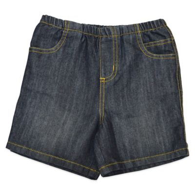 Charlie Rocket™ Size 24M Denim Short with Elastic Waist and Pockets