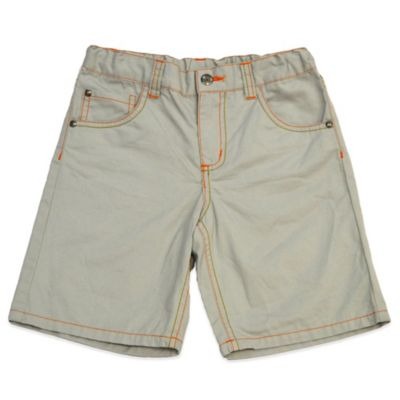 Charlie Rocket™ Size 3T Elastic Waist Short in Stone