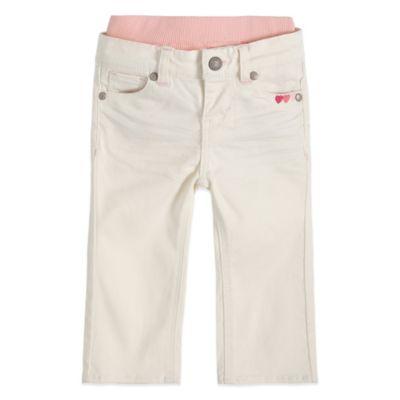 Levi's® Brandi Size 18M Skinny Pant in White