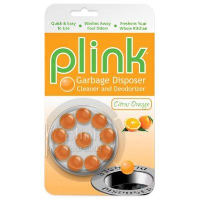 Plink® 10-Count Garbage Disposal Cleaner and Deodorizer in Citrus Orange