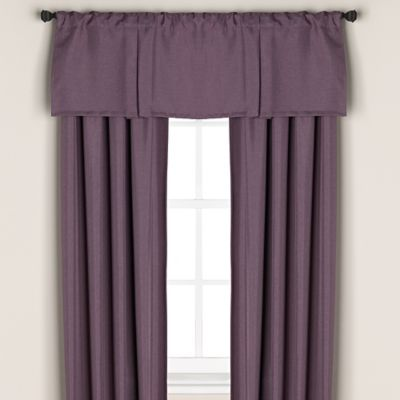 Buy Purple Window Valance From Bed Bath Amp Beyond
