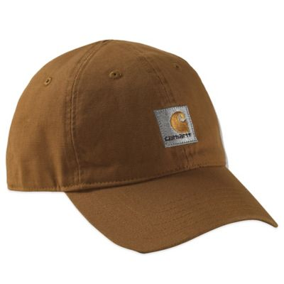Carhartt® Solid Logo Hat in Brown