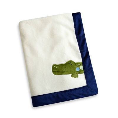 NoJo® Alligator Blues Blanket