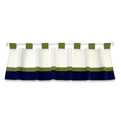 NoJo® Alligator Blues Window Valance