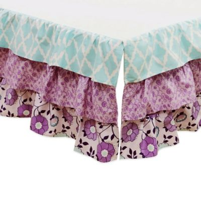 The Peanut Shell® Zoe Crib Skirt