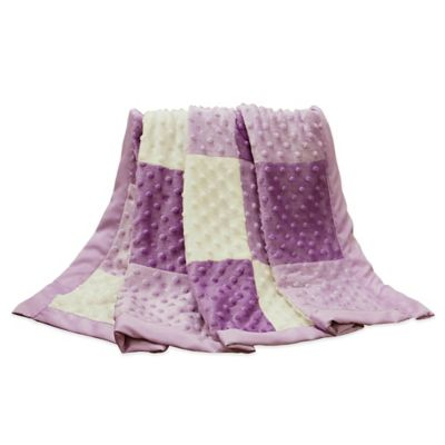 The Peanut Shell® Zoe Minky Dot Blanket