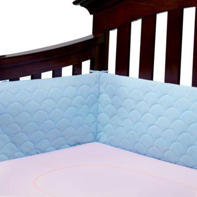 Ubimed® Lifenest™ Breathable Padded Mesh Crib Bumper in Blue