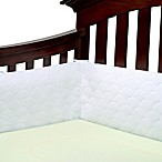 Ubimed® Lifenest™ Breathable Padded Mesh Crib Bumper in White