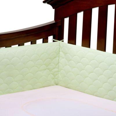 Ubimed® Lifenest™ Breathable Padded Mesh Crib Bumper in Green