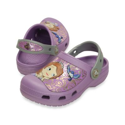 Creative Crocs Sofia the First™ Size 4-5 Kids' Clog in Iris
